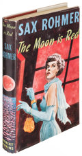 Books:Mystery & Detective Fiction, Sax Rohmer. The Moon Is Red. London: Jenkins, [1954]. Firstedition, inscribed by the author....