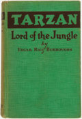 Books:Science Fiction & Fantasy, Edgar Rice Burroughs. Tarzan Lord of the Jungle. Chicago: A.C. McClurg, 1928....
