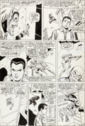 Original Comic Art:Panel Pages, John Romita Sr. and Mike Esposito (as Mickey Demeo) Amazing Spider-Man #39 Story Page 13 Original Art (Marvel, 196...