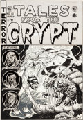 Original Comic Art:Covers, Jack Davis Tales From The Crypt #40 Cover Original Art (EC,1954)....