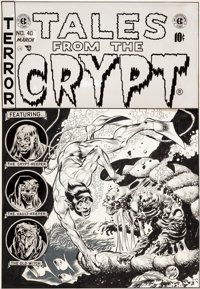Jack Davis Tales From The Crypt #40 Cover Original Art (EC, 1954)