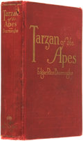 Books:Science Fiction & Fantasy, Edgar Rice Burroughs. Tarzan of the Apes. Chicago: A.C.McClurg, 1914....