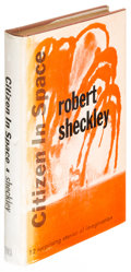 Books:Science Fiction & Fantasy, Robert Sheckley. Citizen in Space. New York: [1955]. Firstedition....