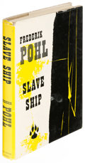 Books:Science Fiction & Fantasy, Frederik Pohl. Slave Ship. New York: Ballantine, [1957].First edition....