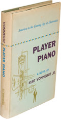 "Books:Science Fiction & Fantasy, Kurt Vonnegut. Player Piano. New York: Charles Scribner'sSons, 1952. First edition, first printing with ""A"" and Scr..."