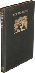 Books:Literature 1900-up, Robert Frost. New Hampshire. A Poem with Notes and GraceNotes... With Woodcuts by J. J. Lankes. New York: H...