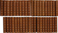 Books:Fine Bindings & Library Sets, Charles Dickens. The Works... London: Chapman and Hall,1906-1908. National Edition, with an envelope signed by Dick...(Total: 40 Items)