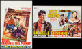 """Movie Posters:Drama, All That Heaven Allows & Other Lot (Universal International, 1955). Belgians (2) (14"""" X 21"""" & 14.5"""" X 21.25""""). Drama.. ... (Total: 2 Items)"""