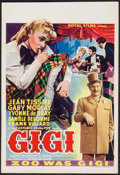 """Movie Posters:Foreign, Gigi (Royal films, 1949). Belgian (Approx. 14.5"""" X 21""""). Foreign.. ..."""