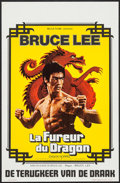 """Movie Posters:Action, The Way of the Dragon (Belga Films, 1972). Belgian (13.75"""" X21.25""""). Action.. ..."""