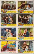 """Movie Posters:Mystery, The Shanghai Story (Republic, 1954). Lobby Card Set of 8 (11"""" X14""""). Mystery.. ... (Total: 8 Items)"""