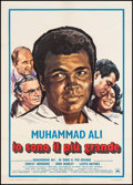 "Movie Posters:Sports, The Greatest (Columbia, 1977). Italian 2 - Foglio (39"" X 54.75""). Sports.. ..."