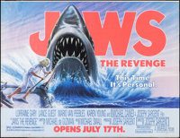 "Jaws: The Revenge (Universal, 1987). Subway (45.75"" X 60""). Thriller"