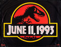 """Movie Posters:Science Fiction, Jurassic Park (Universal, 1993). Subway (45.5"""" X 60"""") Advance.Science Fiction.. ..."""