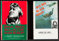 """Baa Baa Black Sheep by """"Pappy"""" Boyington & Other Lot (Wilson Press, 1958). Autographed Hardcover Books (2)..."""