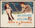 "Movie Posters:Film Noir, Affair in Trinidad (Columbia, 1952). Half Sheet (22"" X 28""). Film Noir.. ..."