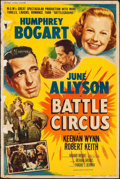 "Movie Posters:War, Battle Circus (MGM, 1953). Poster (40"" X 60"") Style Z. War.. ..."