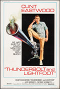 """Movie Posters:Crime, Thunderbolt and Lightfoot (United Artists, 1974). Poster (40"""" X60"""") Style C. Crime.. ..."""