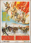 "Movie Posters:War, D-Day The Sixth of June (20th Century Fox, R-1960s). Italian 4 -Foglio (55.25"" X 77.5""). War.. ..."