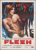 "Movie Posters:Sexploitation, Flesh (PEA, 1978). Italian 2 - Foglio (39.25"" X 55.25"").Sexploitation.. ..."