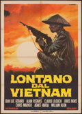 "Movie Posters:Documentary, Far from Vietnam (United Pictures, 1968). Italian 2 - Foglio (39.25"" X 55.25""). Documentary.. ..."