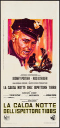 "Movie Posters:Academy Award Winners, In the Heat of the Night (United Artists, 1967). Italian Locandina(13"" X 27.5""). Academy Award Winners.. ..."