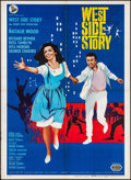 "Movie Posters:Academy Award Winners, West Side Story (United Artists, R-1966). Italian 2 - Foglio(39.25"" X 55""). Academy Award Winners.. ..."