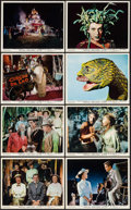 "Movie Posters:Fantasy, The 7 Faces of Dr. Lao (MGM, 1964). British Front of House Color Photo Set of 8 (8"" X 10""). Fantasy.. ... (Total: 8 Items)"