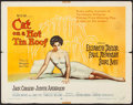 "Cat on a Hot Tin Roof (MGM, 1958). Half Sheet (22"" X 28"") Style A. Drama"
