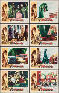 "The Giant Behemoth (Allied Artists, 1959). Lobby Card Set of 8 (11"" X 14""). Science Fiction. ... (Total: 8 Ite..."