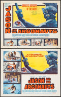 """Movie Posters:Fantasy, Jason and the Argonauts (Columbia, 1963). Half Sheets (2) (22"""" X28"""") Styles A & B. Fantasy.. ... (Total: 2 Items)"""