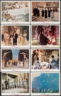 "Movie Posters:Academy Award Winners, The Sound of Music (20th Century Fox, 1965). Roadshow Lobby Cards(7) (11"" X 14"") & Trimmed Roadshow Lobby Card (10.75"" X 13...(Total: 8 Items)"