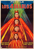 "Movie Posters:Drama, 4 Devils (Fox, 1928). Argentinean Poster (37"" X 52.5"").. ..."