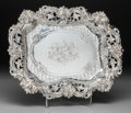 Silver Holloware, American:Trays, A Frank W. Smith Silver Bread Tray, Gardner, Massachusetts, circa1890. Marks: (S-crescent-lion), J.E. CALDWELL & CO, 925...