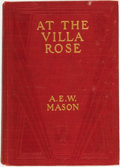 Books:Mystery & Detective Fiction, A[lfred] E[dward] W[oodley] Mason. At the Villa Rose. NewYork: Charles Scribner's Sons, 1910....