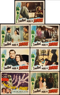 "Movie Posters:Horror, I Walked with a Zombie (RKO, 1943). Title Lobby Card & LobbyCards (6) (11"" X 14"").. ... (Total: 7 Items)"