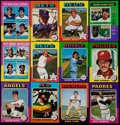Baseball Cards:Sets, 1975 Topps Mini Baseball Near Set (657/660). ...