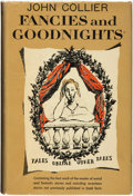 Books:Science Fiction & Fantasy, John Collier. Fancies and Goodnights. Garden City: Doubleday & Company, Inc., 1951....