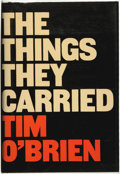 Books:Biography & Memoir, Tim O'Brien. SIGNED. The Things They Carried. Boston:Houghton Mifflin/Seymour Lawrence, 1990....