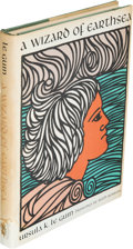 Books:Science Fiction & Fantasy, Ursula K. Le Guin. A Wizard of Earthsea. Berkeley: ParnassusPress, [1968]. First edition, first state (with fai...