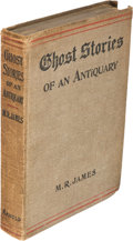 Books:Horror & Supernatural, Montague Rhodes James. Ghost Stories of an Antiquary.London: Edward Arnold, 1904. First edition....
