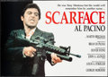 "Movie Posters:Crime, Scarface (Posters Unici, 1984). Commercial Italian 2 - Foglio(37.75"" X 53.5""). Crime.. ..."