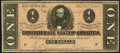 Confederate Notes:1864 Issues, T71 $1 1864 PF-4 Cr. 577.. ...