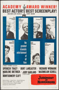 "Movie Posters:Drama, Judgment at Nuremberg (United Artists, 1961). One Sheet (27"" X 41"") Academy Award Style. Drama.. ..."