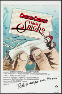 """Up in Smoke (Paramount, 1978). One Sheet (27"""" X 41""""). Comedy"""