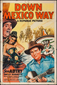 "Down Mexico Way (Republic, 1941). One Sheet (27"" X 41""). Western"