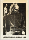 "Movie Posters:Rock and Roll, Jim Morrison: An American Poet & Other Lot (1970s). BritishPersonality Poster (25.25"" X 35"") and Promotional Poster (17"" X ...(Total: 2 Items)"