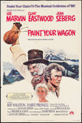 """Movie Posters:Musical, Paint Your Wagon (Paramount, 1969). Poster (40"""" X 60""""). Musical.. ..."""