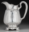 Silver Holloware, American:Pitchers, A Gorham Martelé Silver Cherry Blossom Water Pitcher,Providence, Rhode Island, circa 1919. Marks: Martelé, ...
