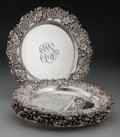 Silver & Vertu:Hollowware, A Set of Six Redlich & Co. Silver Reticulated Bread & Butter Plates, New York, New York, circa 1900. Marks: (lion), STERLI... (Total: 6 )